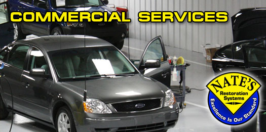 Commercial Auto Detailing and Appearance Services for Dealerships, Fleet Accounts, Body Shops, Marinas, and Furniture Stores